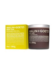Malin Goetz Dark Rum Candle Brown