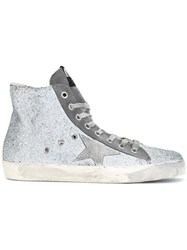 Golden Goose Deluxe Brand Francy Hi Top Sneakers Grey