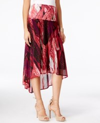 Inc International Concepts High Low Convertible Skirt Dress Only At Macy's Exotic Feather