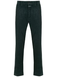 Closed Cropped Corduroy Trousers 60