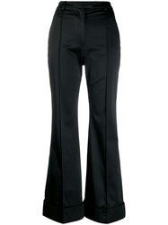 House Of Holland Classic Flared Trousers Black
