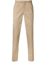 Michael Kors Collection Straight Leg Trousers Nude And Neutrals