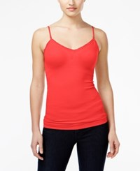 Energie Juniors' Jane Molded Cup Cami Top Fiery Coral