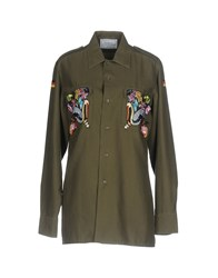 Forte Couture Shirts Military Green