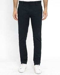 Minimum Navy Blue Havens Chino Trousers