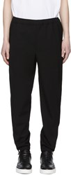 Tim Coppens Black Wool Staple Jogger Trousers