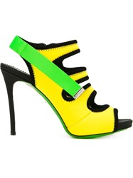 Dsquared2 Strappy Sandals Yellow And Orange