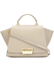 Zac Posen 'Eartha Iconic Top Handle' Tote Nude Neutrals