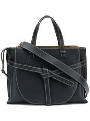Loewe Gate Top Handle Bag Blue
