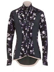Elle Sport Up Styled Run Ready Hooded Jacket Multi Coloured Multi Coloured