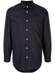 Loveless Button Down Shirt Blue