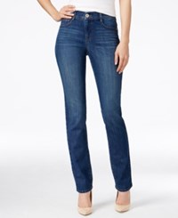 Styleandco. Style And Co. Tummy Control Slim Leg Jeans Only At Macy's Piper