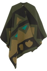 Burberry Wool And Cashmere Blend Cape
