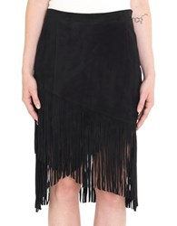 Day Birger Et Mikkelsen Subah Fringe Skirt Black
