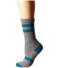 Stance Caroblues Teal Women's Crew Cut Socks Shoes