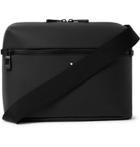 Montblanc Extreme 2.0 Textured Leather Messenger Bag Black