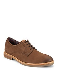 Ben Sherman Leather Lace Up Boots Brown