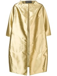 Gianluca Capannolo Metallic Coat Gold