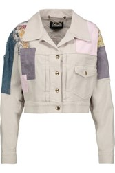 Just Cavalli Patchwork Denim Jacket Multi