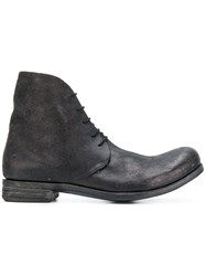 A Diciannoveventitre D3 Destroyed Boots Brown