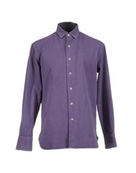 Alain Long Sleeve Shirts Mauve