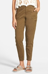 Volcom 'Stand Up' Cargo Pants Lentil Green