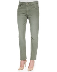 7 For All Mankind Relaxed Slim Fit Denim Jeans Fatigue