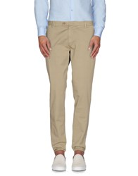 Takeshy Kurosawa Trousers Casual Trousers Men Beige