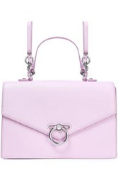 Rebecca Minkoff Woman Convertible Textured Leather Backpack Lilac