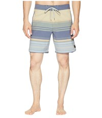 United By Blue Sea Bed Scallop Boardshorts Olive Swimwear