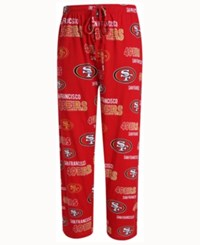 Concepts Sport Men's San Francisco 49Ers Sweep Sleep Pants Red