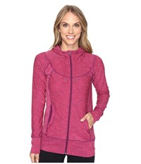 Prana Ember Zip Up Hoodie Cosmo Pink Women's Sweatshirt