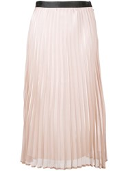 Guild Prime Pleated Midi Skirt Pink And Purple
