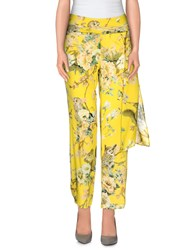 Rose' A Pois Trousers Casual Trousers Women Yellow