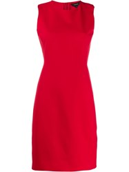 Theory Scuba Fitted Sleeveless Dress 60