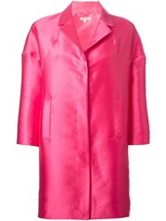 P.A.R.O.S.H. 'Polk' Coat Pink And Purple