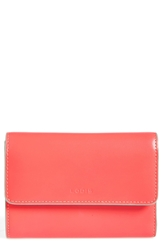 Lodis 'Audrey' Continental Wallet Coral Gray Clg