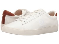 Fred Perry Spencer Herringbone Knit Leather Porcelain White Men's Shoes