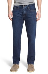 Men's Rvca 'Stay' Slim Straight Leg Jeans Vivid Blue