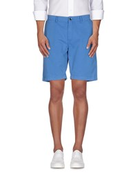 Napapijri Trousers Bermuda Shorts Men Azure