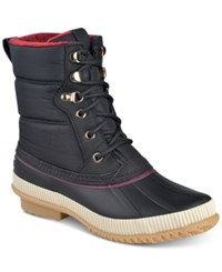Tommy Hilfiger Elvia Cold Weather Boots Women's Shoes Black