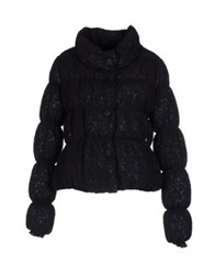 Scee By Twin Set Down Jackets Dark Blue
