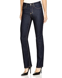 Nydj Hayley Straight Leg Jeans In Dark Enzyme