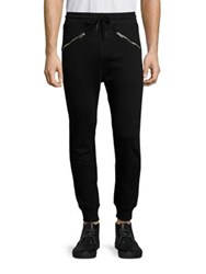 Diesel Narc Zip Sweatpants Black