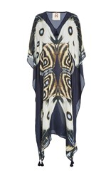 Figue Eliza Printed Silk Kaftan