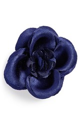 Men's Hook Albert Buttercup Lapel Pin Navy Buttercup
