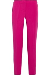 Michael Michael Kors Clean Miranda Stretch Crepe Slim Leg Pants Pink