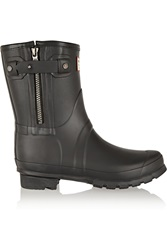 Rag And Bone Hunter Rubber Ankle Boots Black