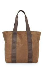 Filson Grab N Go Medium Tote Dark Tan Brown