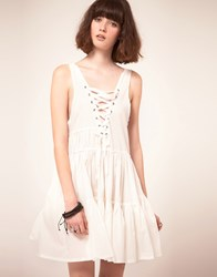 One Teaspoon Confessions Dress White
